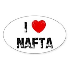 I * NAFTA Oval Decal