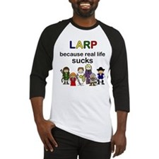 Baseball Jersey - cartoon LARP