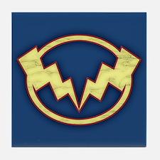Lightning Bolts Tile Coaster