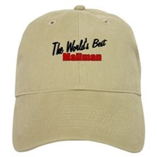 """The World's Best Mailman"" Baseball Cap"