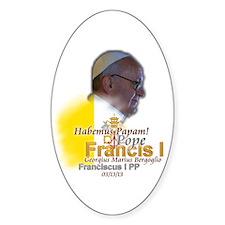 Habemus Papam! Decal
