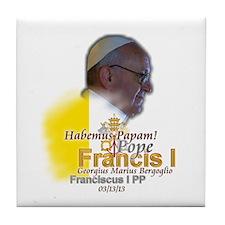 Habemus Papam! Tile Coaster