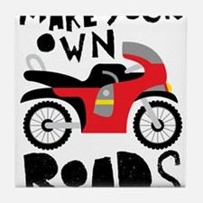 Make Your Own Roads Tile Coaster