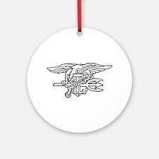 Navy SEAL - UDT Trident Ornament (Round)