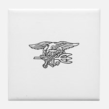 Navy SEAL - UDT Trident Tile Coaster