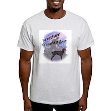 hunting german shorthair Ash Grey T-Shirt