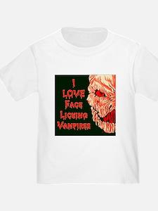 Face Licking Vampires T
