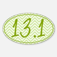 13.1 Green Chevron Decal
