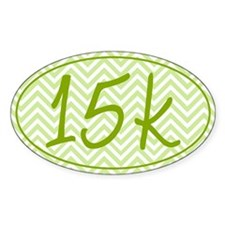 15k Green Chevron Decal