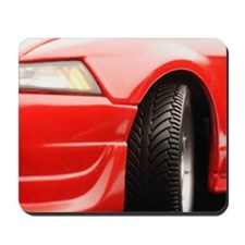 Red sports car Mousepad