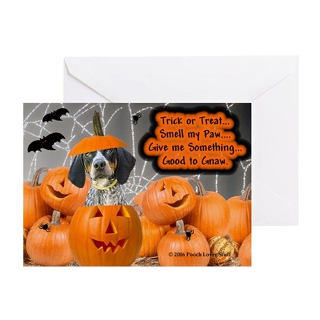 Bluetick Coonhound Greeting Cards (Pk of 10)