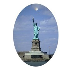 Statue of Liberty, New York City,  Ornament (Oval)