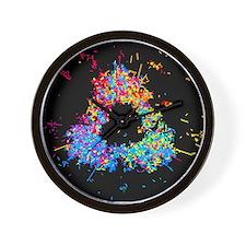 Unique Quarks Wall Clock