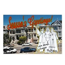 Wisemen with Painted Ladies (8-pack)