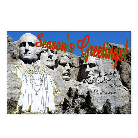 Wisemen at Mt. Rushmore (8-pack)