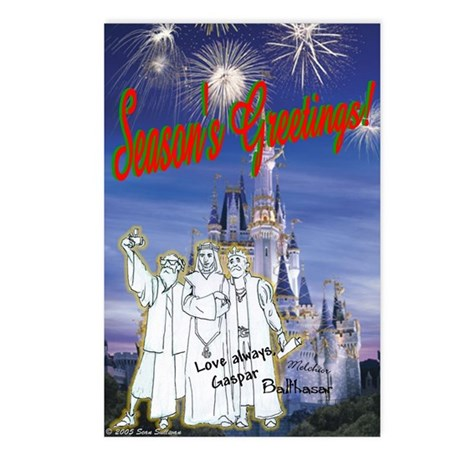 Wisemen at Disneyland (8-pack)