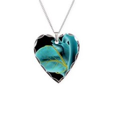The coronary vessels of the h Necklace Heart Charm