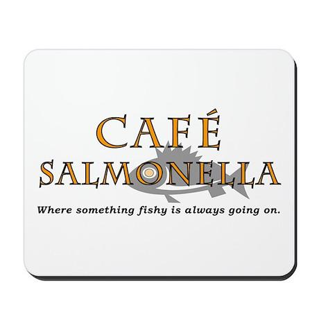 Cafe Salmonella Mousepad