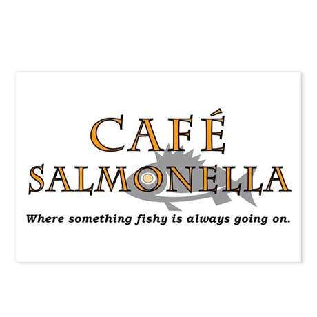 Cafe Salmonella Postcards (Package of 8)