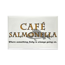 Cafe Salmonella Rectangle Magnet