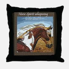 Spirit of the Horse Throw Pillow