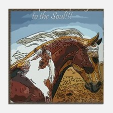 Spirit of the Horse Tile Coaster