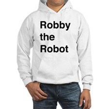 Robby the Robot Text Hoodie
