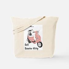 Evil Kitty Buddy Tote Bag