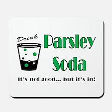 Parsley Soda Mousepad