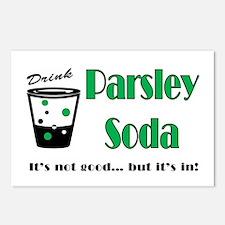 Parsley Soda Postcards (Package of 8)