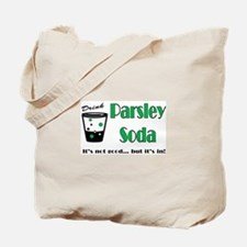 Parsley Soda Tote Bag