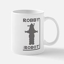 Robby the Robot Outline Mug