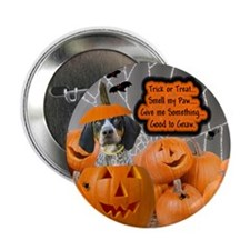 Bluetick Coonhound Button