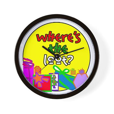 Where's the Loot? Wall Clock