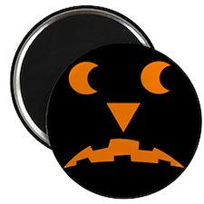 """Jack-O-Lantern 2 2.25"""" Magnet (100 pack)"""