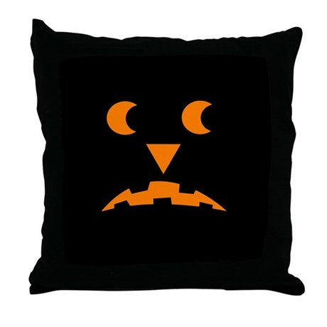 Jack-O-Lantern 2 Throw Pillow