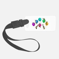 Squirrels Balloons Luggage Tag
