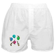 Squirrels Balloons Boxer Shorts