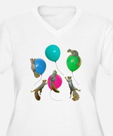 Squirrels Balloons T-Shirt