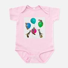 Squirrels Balloons Infant Bodysuit