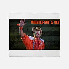 Whsitle-Nut Image Throw Blanket