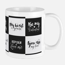 Love Black&White Mugs