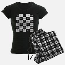 Love Black&White Pajamas