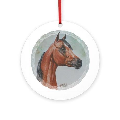Arabian Portrait Ornament (Round)