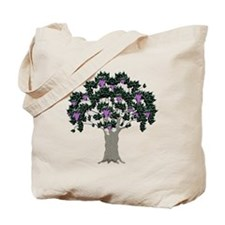 Orchard Tote Bag (Grapes/Purple)