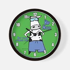 Hip Moo Wall Clock