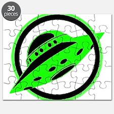 UFO In Flight Puzzle