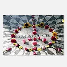 """Imagine,"" Strawberry Fields, Color Postcards"