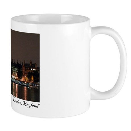 Big Ben night shot, London Mug