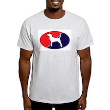 UK Flag Harrier Ash Grey T-Shirt
